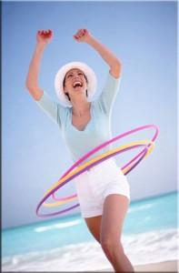Хула-хуп (Hula hoop). Описание, виды и упражнения с хула-хупом